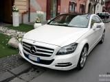 1 Noleggio Mercedes CLS bianco Matrimonio Napoli