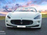 Noleggio Maserati GranCabrio bianca Matrimoni Cerimonie Eventi Napoli desimoneweddingservice 1