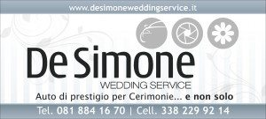 De Simone Wedding Service Logo
