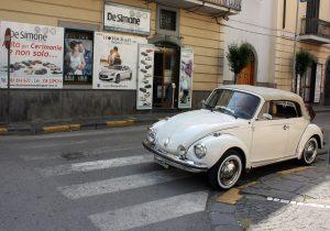 Noleggio Maggiolone Volkswagen Cabrio Cerimonie Napoli 1