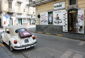 Noleggio Maggiolone Volkswagen Cabrio Cerimonie Napoli 2