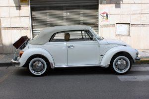 Noleggio Maggiolone Volkswagen Cabrio Cerimonie Napoli 3