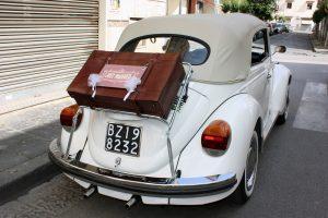 Noleggio Maggiolone Volkswagen Cabrio Cerimonie Napoli 4
