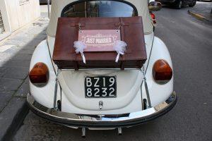 Noleggio Maggiolone Volkswagen Cabrio Cerimonie Napoli 5