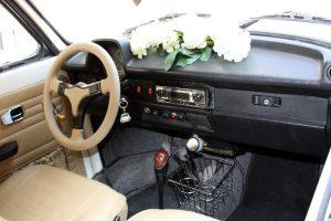 Noleggio Maggiolone Volkswagen Cabrio Cerimonie Napoli 7