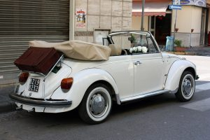 noleggio maggiolone volkswagen cerimonie Napoli 1