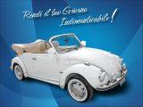 Noleggio Maggiolone Volkswagen Cabrio per Cerimonie Matrimoni Eventi Napoli e Province