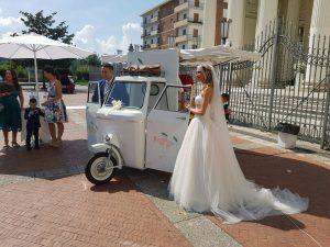 servizio aperitivo con apecar per cerimonie matrimonio eventi napoli de simone wedding service (1)