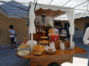 servizio aperitivo con apecar per cerimonie matrimonio eventi napoli de simone wedding service (5)
