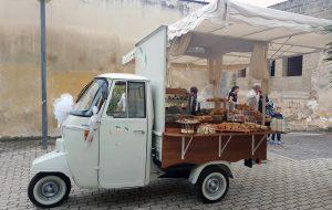 servizio aperitivo con apecar per cerimonie matrimonio eventi napoli de simone wedding service (6)